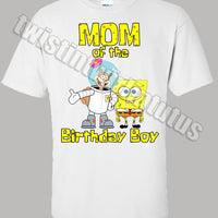 Spongebob Mom Shirt