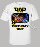 Star Wars Dad Birthday Shirt