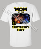 Star Wars Mom Birthday Shirt