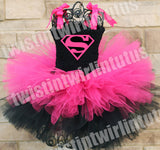 Super Girl Halloween Tutu Costume