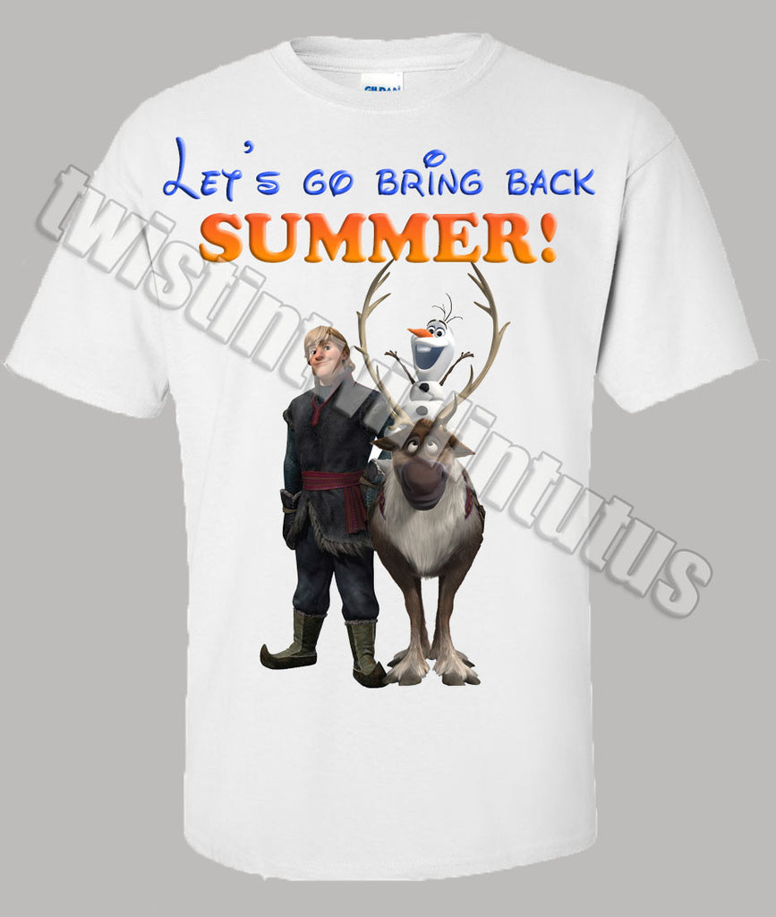 Adult Frozen Shirt
