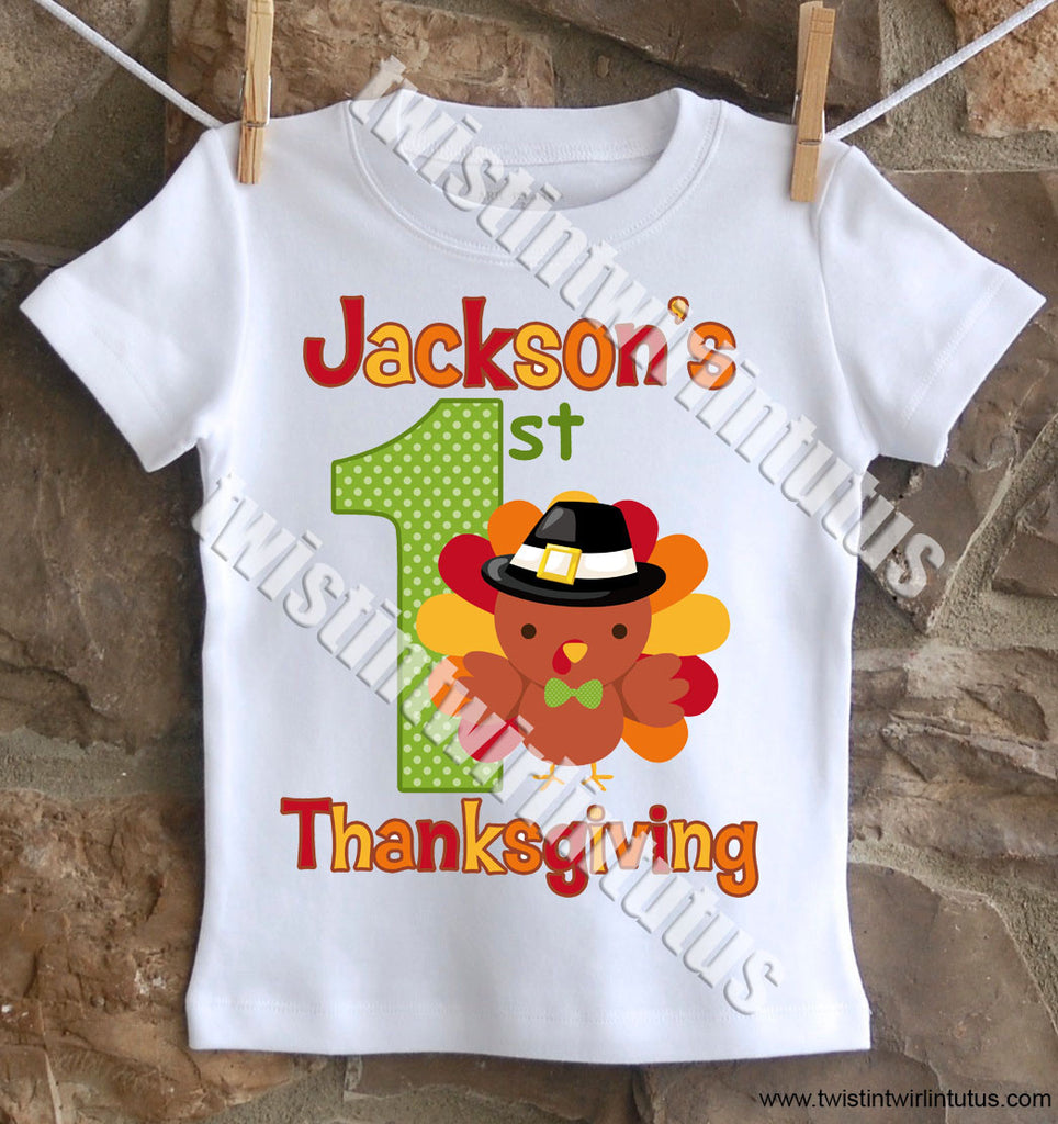 Boys First Thanksgiving Shirt