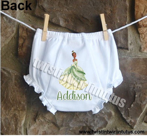 Disney Princess Tiana Bloomers Diaper Cover