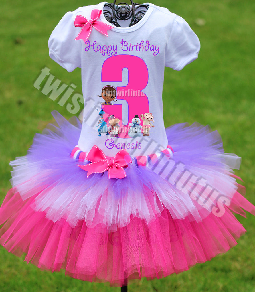Doc McStuffins Birthday Outfit Tiered