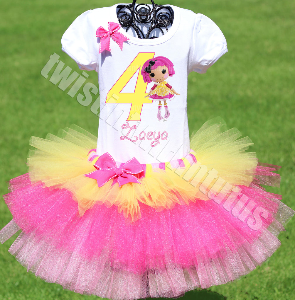 Lalaloopsy Birthday Outfit Tiered Tutu