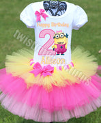 Minion Birthday Outfit