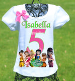 Tinkerbell Fairies Birthday Shirt