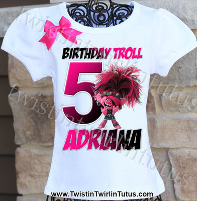 Trolls 2 Birthday Shirt
