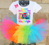 Trolls World Tour Birthday Tutu Outfit