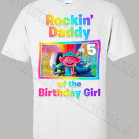 Trolls World Tour Daddy Shirt