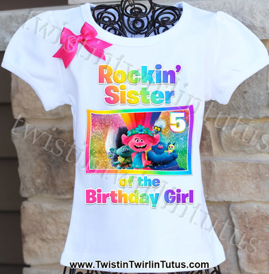 Trolls World Tour Sister Shirt