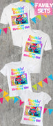 Trolls World Tour Family Birthday Shirts