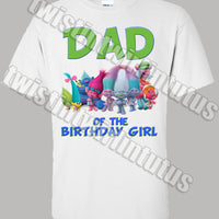 Trolls Dad Shirt