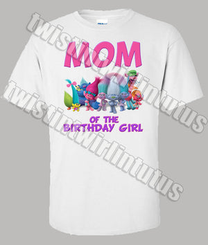 Trolls Mom Shirt