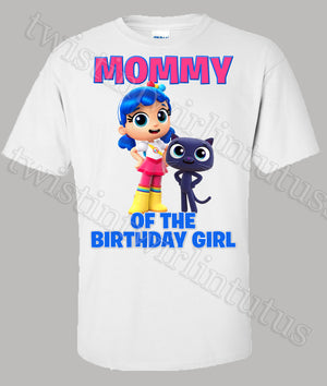 True and the Rainbow Kingdom Mom shirt
