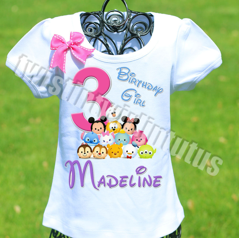 tsum tsum birthday shirt