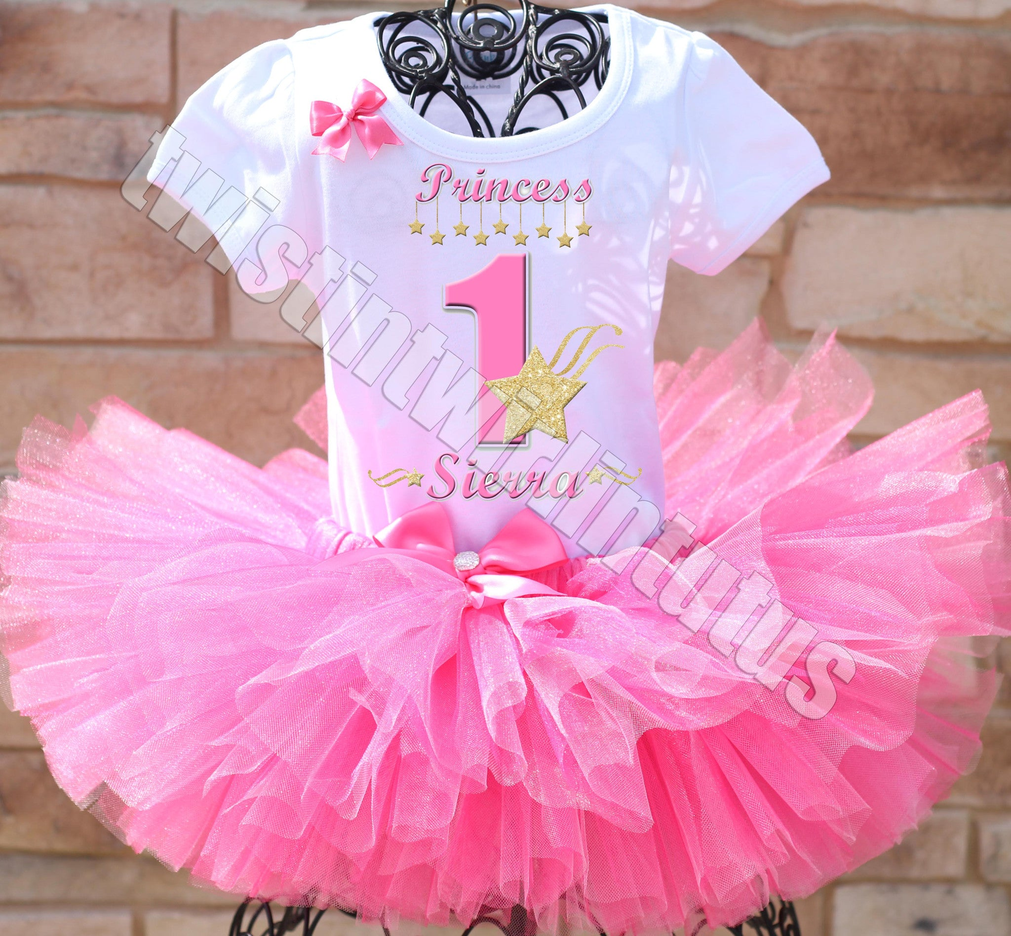 Twinkle Little Star Birthday Tutu Outfit