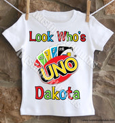 Uno Birthday Shirt