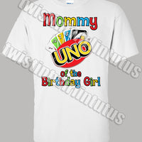 Uno Mommy Shirt