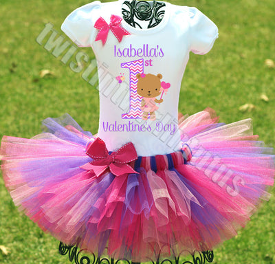 First Valentine's Day Tutu Outfit