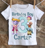 Wallykazam Birthday Shirt