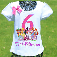 Winx Club Birthday Shirt