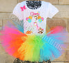 Rainbow Zoo Birthday Outfit