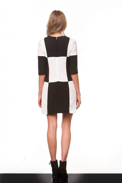 Checkmate Dress - KISSUE