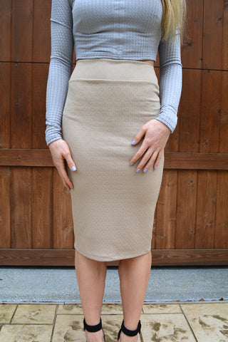 Basic Instinct Skirt - KISSUE