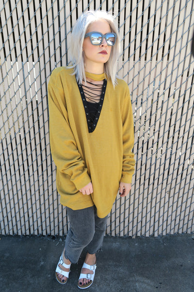 KISSUE Mustard Seed Sweater