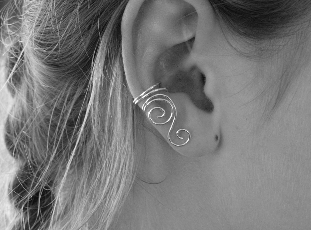 Sterling Silver Ear Cuff, Right, Left or One of Each!