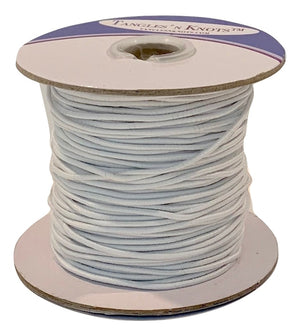 Elastic Cord - WHITE - 1.2MM (50 Yards)