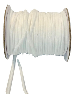 Elastic Cord - WHITE - 3MM (40 Yards) - SOFT