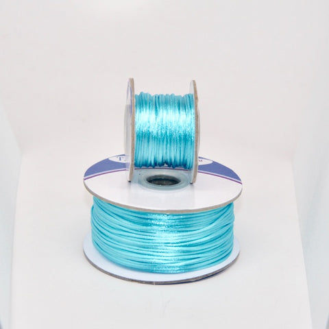 Aquamarine - Nylon Satin- 1MM