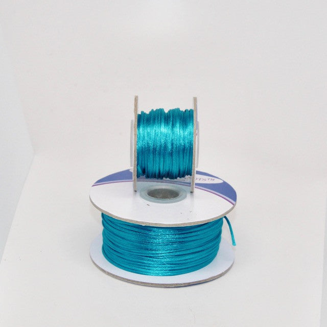 Bright Turquoise - Nylon Satin - 1MM