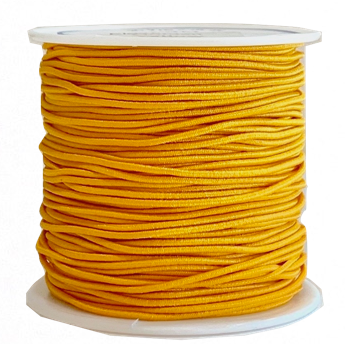 Elastic Cord 1MM - BURNT ORANGE (20 yds)