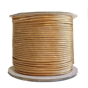 Caramello  - Wax Polyester Surfer Cord - 45 yd rolls