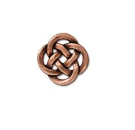 Small Open Celtic Link :  Copper:  Tierracast