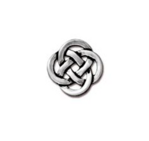 Small Open Celtic Link :  Silver:  Tierracast