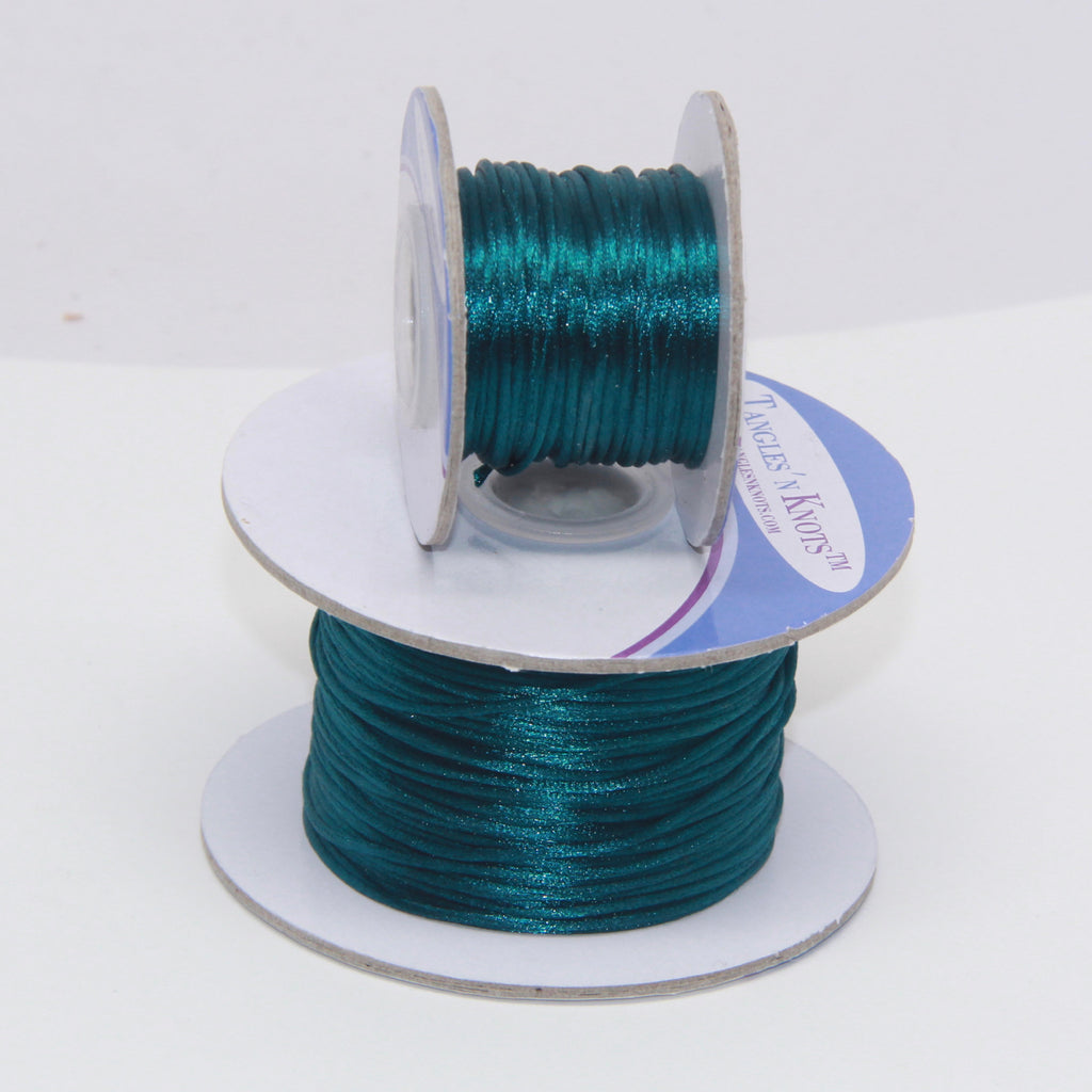 Cerulean - Nylon Satin- 1MM