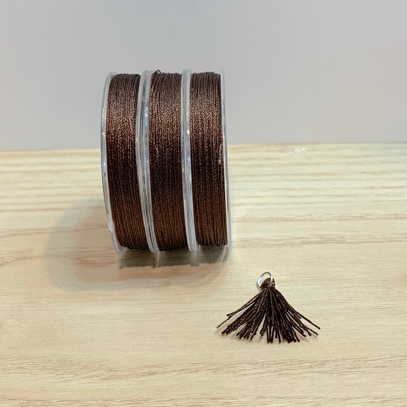 Chocolate - Tassel Cord