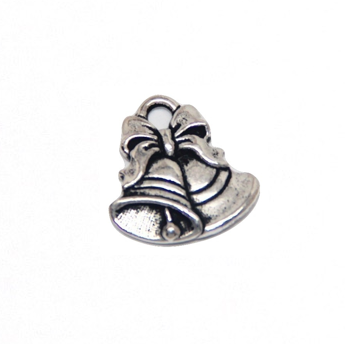 Christmas Bell Charm - Silver