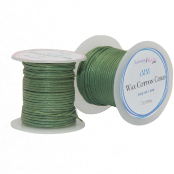 Wax Cotton Cord:  COMFREY - 10M Spool