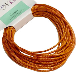 Copper - Wax Polyester Surfer Cord - 5 yard bundle