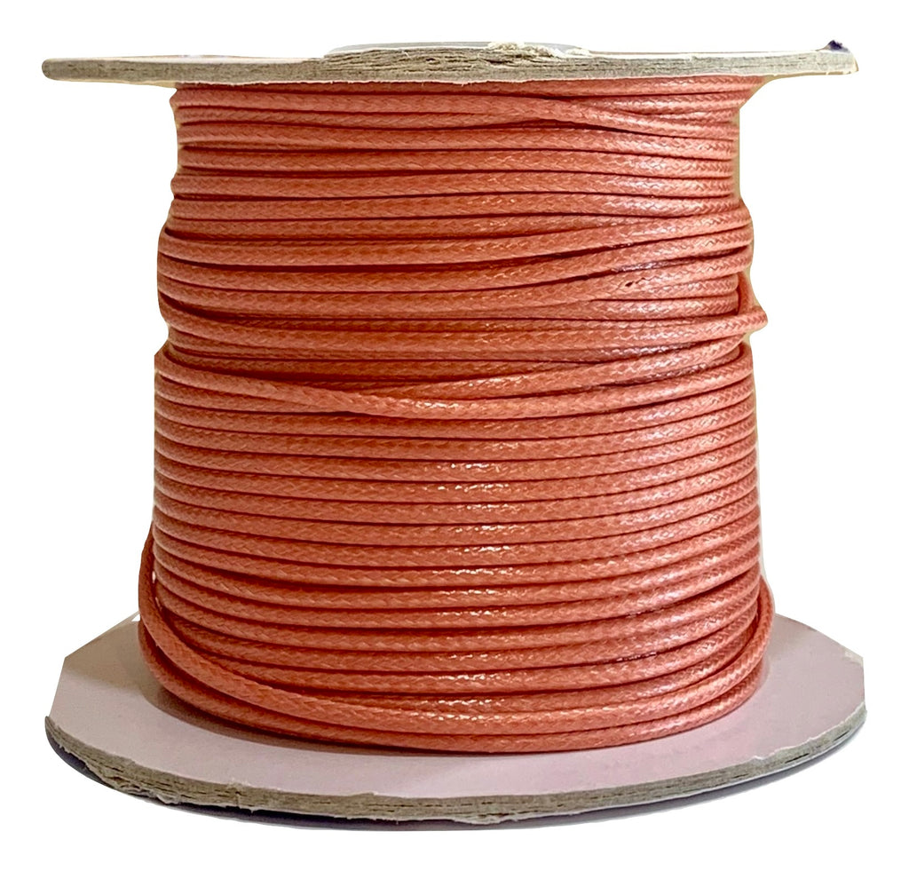 Coral Reef - Wax Polyester Surfer Cord - 45 or 50 yd rolls