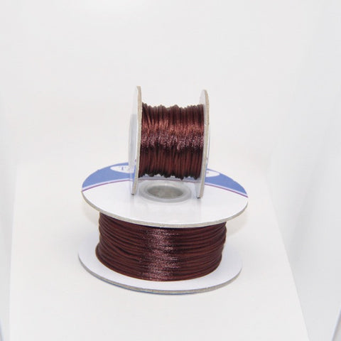 Dark Brown - Nylon Satin - 1MM