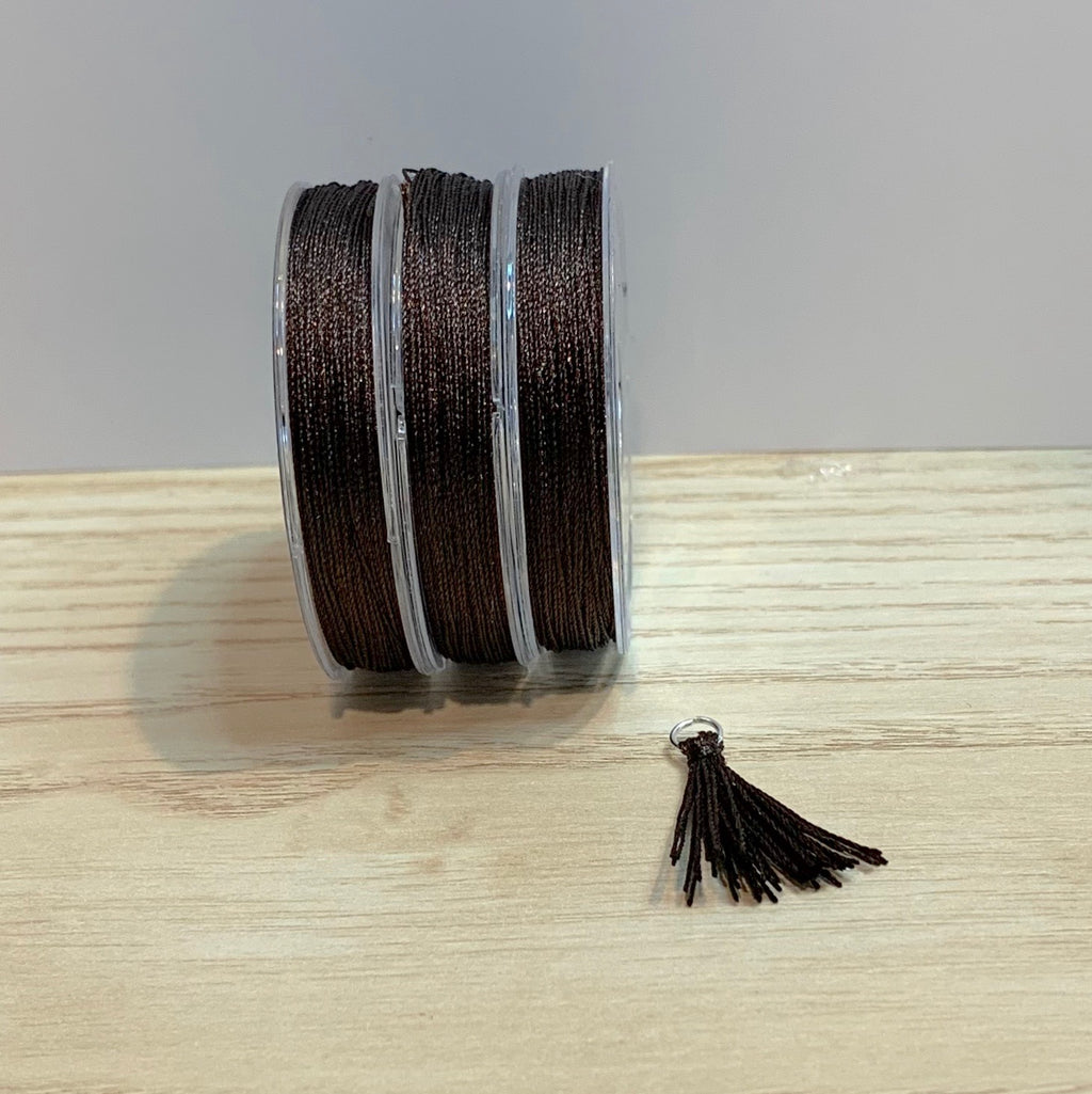 Dark Brown - Tassel Cord
