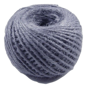 Jute - Dark Grey:  1.5MM-2MM (50Ml) (Clearance)