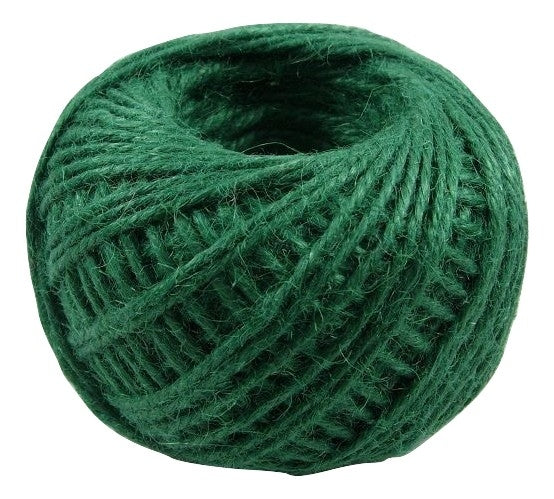 Jute - Dark Green:  1.5MM-2MM (50Ml)