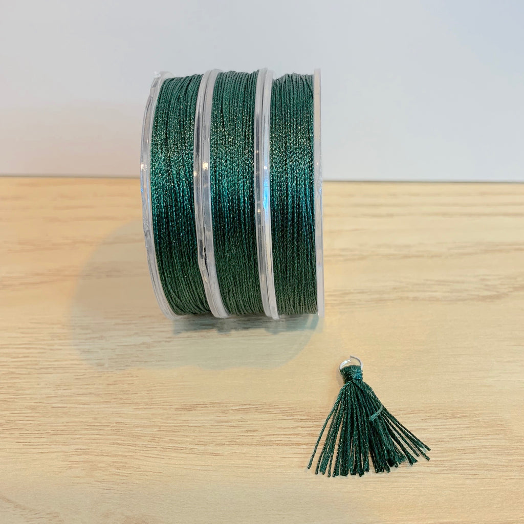 Dark Green - Tassel Cord